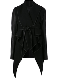 Gareth Pugh Frill Collar Jacket Black