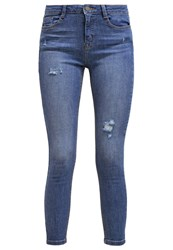 Dorothy Perkins Darcy Slim Fit Jeans Blue Blue Denim