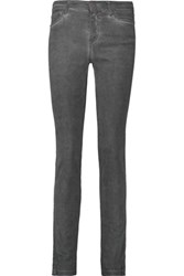 Mcq By Alexander Mcqueen Mid Rise Skinny Jeans Anthracite