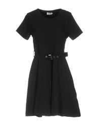 Molly Bracken Short Dresses Black