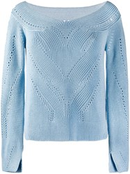 Ermanno Scervino Boat Neck Jumper 60