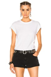 Alexander Wang T By High Twist Fitted Bodysuit In White
