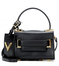 Valentino My Rockstud Mini Leather Shoulder Bag Black