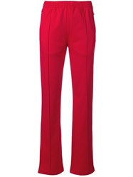 Calvin Klein Jeans Side Band Track Trousers Red