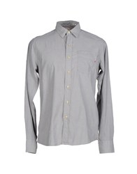 Replay Shirts Shirts Men Grey