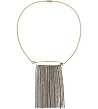 Maje Spindle Chain Necklace Gold