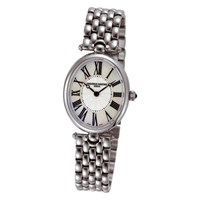 Frederique Constant Women's Classic Art Deco Oval Watch Silver