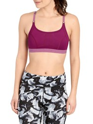 Lole Alpine Sports Bra Plum