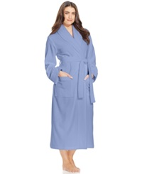 Charter Club Long Luxe Terry Robe Lilac Kiss