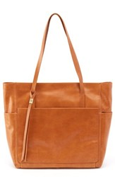 Hobo Hero Leather Tote Brown Earth