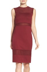 French Connection Women's Lula Dress Burgundy