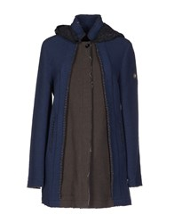 Swiss Chriss Coats And Jackets Coats Women Slate Blue