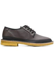 Lanvin Classic Derby Shoes Brown