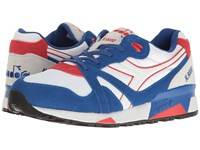 Diadora N9000 Nyl True Blue Poppy Red Athletic Shoes Multi