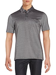 Saks Fifth Avenue Regular Fit Cotton Jersey Polo Shirt Coral
