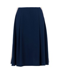 8 Skirts 3 4 Length Skirts Women Dark Blue