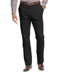 Haggar Straight Fit Wrinkle Free Performance Pants Black