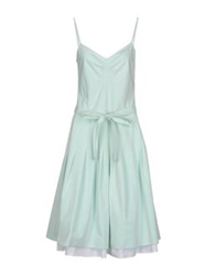 Ballantyne Knee Length Dresses Light Green