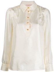 Tory Burch Buttoned Long Sleeved Shirt 60
