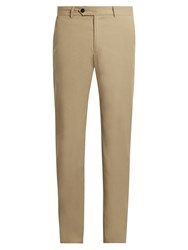 Adam By Adam Lippes Straight Leg Chino Trousers Khaki