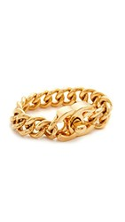 Wgaca What Goes Around Comes Around Large Chanel Turn Lock Bracelet Previously Owned Yellow Gold