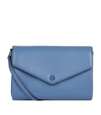 Sandro Pola Leather Cross Body Bag Female Blue