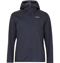 Patagonia Houdini Ripstop Hooded Jacket Storm Blue
