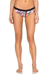 Seafolly Beach Gypsy Split Band Hipster Bottom Orange