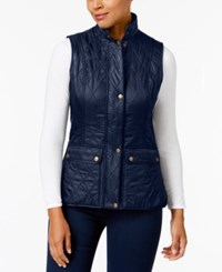 Barbour Wray Quilted Vest Navy