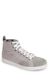 Joe's Jeans Men's Joe's 'Tempo' High Top Sneaker Grey