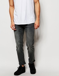 Lee Jeans Powell Low Waist Slim Fit Black Lead Washed Out Blacklead