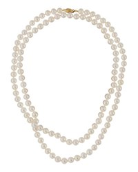 Belpearl 14K Freshwater Pearl Rope Necklace