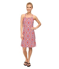 Prana Quinn Dress Coral Gardenia Women's Dress Pink