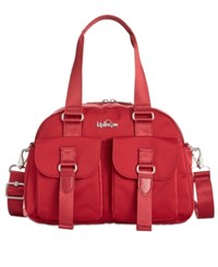 Kipling Defea Small Satchel Candied Red
