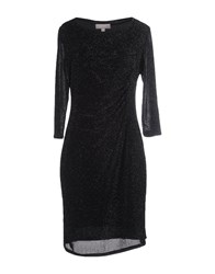 Havren Knee Length Dresses Black