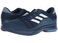 Adidas Barricade Court Mystery Blue Footwear White Tech Blue Metallic Men's Tennis Shoes