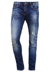 Ltb Servando Slim Fit Jeans Ravi Wash Destroyed Denim