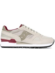 Saucony Panelled Low Top Sneakers Nude And Neutrals