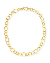 Dina Mackney Phoenix Chain Necklace 18 Gold