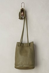 Anthropologie Gigi Petite Bucket Bag Green