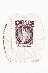 Deus Ex Machina Possible Long Sleeve Tee White
