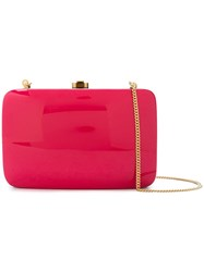 Rocio Square Shaped Clutch Bag Pink