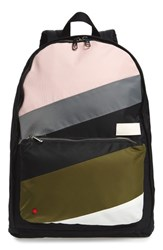 State Bags The Heights Lorimer Backpack Black Black Stripe