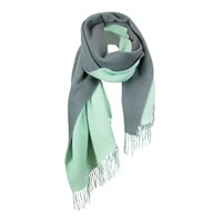 Unpaired The Cozylab Oversized Cashmere Blended Scarf Moonlight Jade