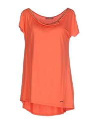 Toy G. Topwear T Shirts Women Coral