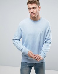 French Connection Crew Neck Knitted Jumper Kentucky Blue