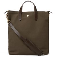 Mismo Shopper Shoulder Bag Brown