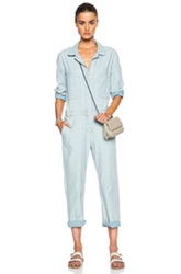 Mih Jeans Arconaut Overall Jumpsuit In Blue