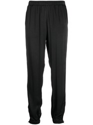 Gold Hawk Loose Fit Track Trousers Black