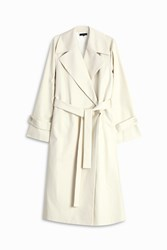 The Row Swells Coat White